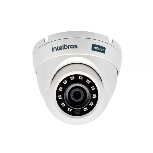 Camera 20 Mt 2.8mm Vhd 3220d Ir 2 Mp Full Hd G4 Dome Intelbras